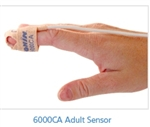NONIN 6000CA ADULT CLOTH DISPOSABLE SENSORS, BOX OF 24 (3 FEET / 1 METER)