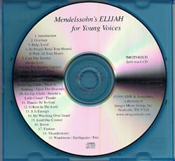 Elijah for Young Voices Accompaniment CD