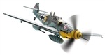 "German Messerschmitt Bf 109G-6 Fighter - ""Yellow 6,"" Ofw. Alfred Surau, 9./Jagdgeschwader 3 ""Udet,"" Germany, September 1943"