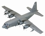 USAF Lockheed AC-130H Hercules Spectre Gunship - 16th Special Operations Squadron, Hurlburt Field, FL, 1990 [Low-Vis Scheme]