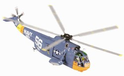US Navy Sikorsky HSS-2 Sea King Helicopter - HS-3 Squadron, 1962