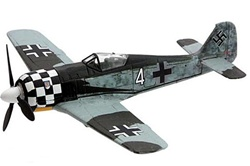German Focke-Wulf Fw 190A Fighter - 1./Jagdgeschwader 1, Schiphol, Holland, June 1943