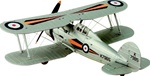 RAF Gloster Gladiator Mk. I Fighter - A Flight, 73 Squadron, RAF Debden, Essex, September 1937