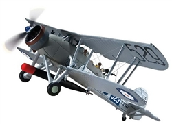 Royal Navy Fairey Swordfish Mk. I Torpedo Plane - L2742, 81 NAS, HMS Courageous, 1937 [Wheels]