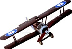Royal Flying Corps Sopwith Camel Fighter - Henry Nap Botterell, No. 208 Squadron, 1918