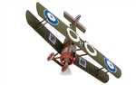 RNAS Sopwith Camel Fighter - Flight Lieutenant Lloyd S Breadner, No.3 Squadron, Bray Dunes Aerodrome, France, 1918