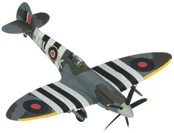 RAF Supermarine Spitfire Mk. XIV Fighter - Flight Leftenant H. D. Johnny Johnson, 91 Squadron, RAF West Malling, England, July 1944
