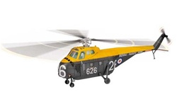 Royal Naval Air Service Westland Whirlwind HAS Mk VII Medium Lift Helicopter -  XN387, Eglinton, Northern Ireland, 1961