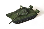 Russian T-80 Main Battle Tank T-80B Main Battle Tank with Command Shield - Soviet Army Elite Squad