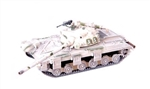 Soviet T-64 Model 1972 Main Battle Tank - Winter Camouflage, 1970s