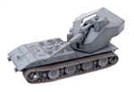German E-100 Panzer Weapons Carrier with 128mm Gun - Gray, 1946