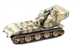German E-100 Waffentrager (Weapon Carrier) with 128mm Gun - Summer Camouflage, 1946