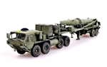 US M983 HEMTT Tractor and Pershing II Tactical Missile