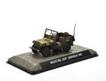 Australian Army 1/4 Ton Willys Jeep Top Down