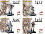 Series 1: Winter Combat, 1942/43 Four Piece Set