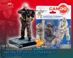 Winter Combat, Eastern Front 1942/43 - Limited Edition German Soldier