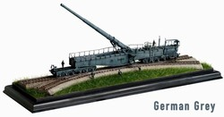 German 28cm K5(E) Leopold Railway Gun - Field Grey