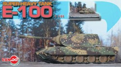 German PzKpfw VIII E-100 Super Heavy Tank - Ambush Camouflage
