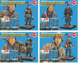 Hermann Goring Division, Anzio, 1944 - Four Piece Set