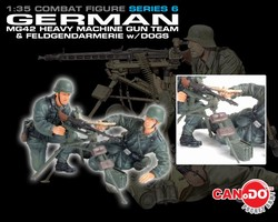 Series 6: German MG42 Heavy Machine Gun Team