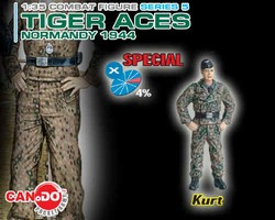 Limited Edition German Tiger Ace #6 Kurt - Normandy, 1944