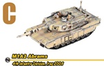 US M1 Abrams Main Battle Tank Series: M1A2 Abrams Main Battle Tank - 4th Infantry Division, Iraq 2003