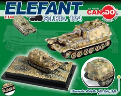 German Elefant / Ferdinand Heavy Tank Destroyer Series: Sd.Kfz. 184 Elefant Tank Destroyer - 1.Kompanie, schwere Panzerjager Abteilung 653, Italy 1944