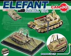 German Elefant / Ferdinand Heavy Tank Destroyer Series: Bergepanzer Tiger (P)