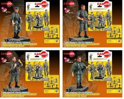 Series 3: Wehrmacht Infantry - Four Piece Set