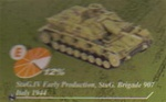 German StuG III and StuG IV Assault Gun Series: Sturmgeschutz IV Assault Gun, StuG Abt.907, Italy, 1944