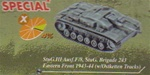 German StuG III and StuG IV Assault Gun Series: Limited Edition StuG III Ausf.F/8 StuG Brigade 243, Eastern Front 1943-44