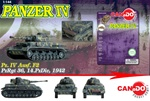 German Sd. Kfz. 161 PzKpfw IV Medium Tank Series: Panzer IV Ausf. F2 Medium Tank - Panzer Regiment 36, 14.Panzer Division, 1942