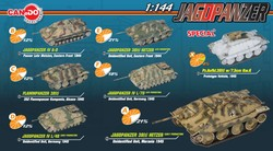 German Jagdpanzer/Hetzer Tank Destroyer Series