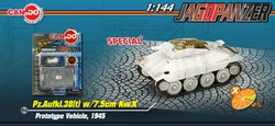 German Jagdpanzer/Hetzer Tank Destroyer Series: Limited Edition German Pz.Aufkl.38(t) w/7.5cm Kw.K, Prototype Vehicle, 1945