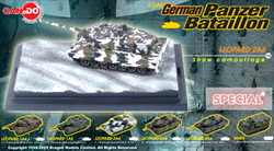 German Panzer Battalion Series: Limited Edition German Leopard 2A6 Main Battle Tank in Winter Camouflage