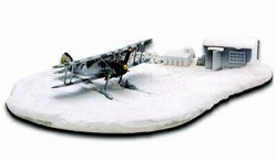 Royal Swedish Air Force Gloster Gladiator J-8A with Skis Diorama - F 19 Squadron, Lake Kemi, Finland, January 1940