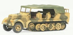 German Sd. Kfz. 7 8-Ton Troop Carrier/Prime Mover - Panzer Division Hermann Goring, Sicily, 1943