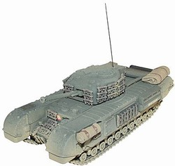 British Churchill Mk. III Infantry Tank - 34th Tank Brigade, Normandy, 1944