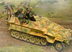 German Sd. Kfz. 251 Ausf. C Half-Track - Normandy, 1944
