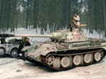 German Late Version Sd. Kfz. 171 PzKpfw V Panther Ausf. G Medium Tank - Winter 1944