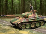 German Late Version Sd. Kfz. 171 PzKpfw V Panther Ausf. G Medium Tank - Normandy, 1944
