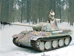 German Late Version Sd. Kfz. 171 PzKpfw V Panther Ausf. G Medium Tank with Zimmerit - Winter 1944