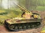 German Sd. Kfz. 124 Wespe 105mm Tank Destroyer - Summer Camouflage