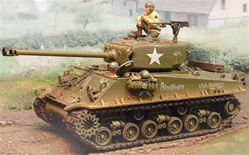 US M4A3E8 Sherman Medium Tank -  Normandy, 1944