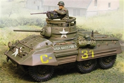 US M8 Greyhound Light Armored Car - Normandy, 1944