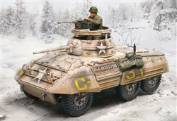 US M8 Greyhound Light Armored Car - Winter 1944