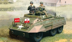 US M20 Greyhound Light Armored Car - Normandy, 1944