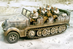 German Sd. Kfz. 7 8-Ton Personnel Carrier / Prime Mover - Winter 1944