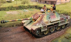 German Late Version Sd. Kfz. 173 Jagdpanther Tank Destroyer - Ambush Camouflage