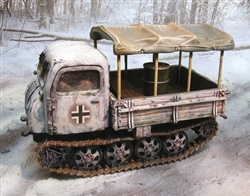 German Steyr RSO/01 Crawling Tractor - Winter 1944